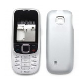 Front Cover Nokia 2330 Classic with keyboard Black-Silver OEM