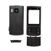 Front Cover Nokia 6700 Slide with keyboard Black OEM