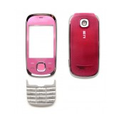 Front Cover Nokia 7230 with keyboard Pink OEM