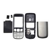 Front Cover Nokia 6303 Classic with keyboard Silver OEM