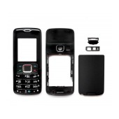 Front Cover Nokia 3110 Classic with keyboard Black OEM