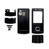 Front Cover Nokia 6500 Slide with keyboard Black OEM
