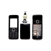 Front Cover Nokia 6300 with keyboard Black OEM