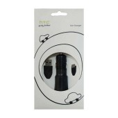 Car Charger HTC CC C200 with Detachable Cable Micro USB 1000 mAh