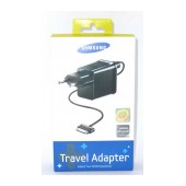 Travel Charger Samsung ETA-P10EBEGSTD with Detachable Cable for P1000 Galaxy Tab 2000 mAh