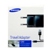 Travel Charger Samsung ETA-U90EΒΕ 10W Black with Detachable Cable MIcro USB for i9070 Galaxy S Advance 2000 mAh