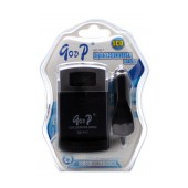 Battery Charger Goop Universal GD-917 Traverl and Car, with Digital Lcd for Cameras and Mobile Phone