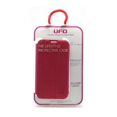 Book Case UFO for Samsung N7100 Galaxy Note II Pink - Red