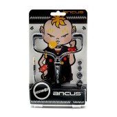 Hands Free Ancus in-Earbud Stereo 3.5 mm Black with Zipper Cable without Micrphone