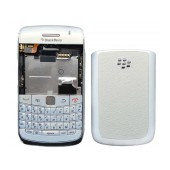 Front Cover BlackBerry Bold 9700 with Jack and Battery Connector, Side Keys and Keyboard White Origi