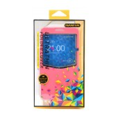 Book Case S-View Baseus for Samsung N9005 Galaxy Note 3 ( Note III ) Pink with active S-View