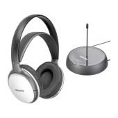 Philips Wireless Stereo Headphones SHC5100 Silver - Black for TV and HiFi Stereo