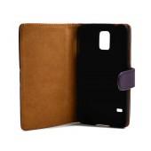 Book Case Ancus Cobus for Samsung SM-G900F Galaxy S5 Purple