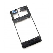 Middle Cover Frame Sony Xperia M/M Dual Original 1272-3747