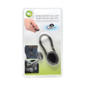 Phone Clip with Led Light for Cell Phones, MP3, MP4, PDA