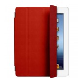 Smart Leather Case Apple MD304FE/A for iPad 2, 3, 4 Red Original