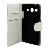 Book Case Ancus Teneo for Samsung G3500 Galaxy Core Plus White