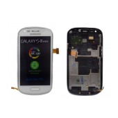 Original LCD & Digitizer Samsung i8190 Galaxy S3 Mini ( S III Mini ) White GH97-14204A