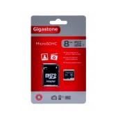 Flash Memory Card Gigastone MicroSDHC 8GB Class 4