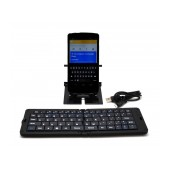 Bluetooth Keyboard Trixie Folding for Smartphone, Tablet, PC, και SmartTV Black