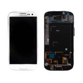 Original LCD & Digitizer Samsung i9301 Galaxy S3 Neo ( S III Neo ) White GH97-15472B
