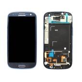 Original LCD & Digitizer Samsung i9301 Galaxy S3 Neo ( S III Neo ) Blue GH97-15472A