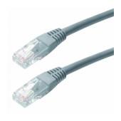 Patch Cable Jasper Cat 5 UTP 0.25m Grey