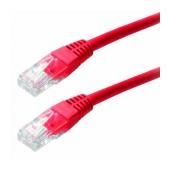 Patch Cable Jasper Cat 5 UTP 0.5m Red