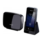 Dect/Gap Panasonic KX-PRX150FXB Black Gryphone 3G/GSM with Bluetooth and Hands Free