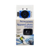 Action Camera DV123SC HD 720p with Wide-angle Lens (120 Degrees)