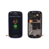 Original LCD & Digitizer Samsung i8190 Galaxy S3 Mini ( S III Mini ) Blue GH97-14204B