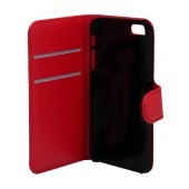 Book Case Ancus Teneo for Apple iPhone SE/5/5S Red