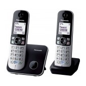 Dect/Gap Panasonic KX-TG6812 (EU) Duo Silver - Black with Eco Mode