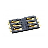 Sim Connector ZTE Blade Q Mini Original 042120200031