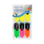 Highlighter Top Write Mini 6 Pieces