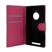 Book Case Ancus Teneo for Nokia Lumia 830 Fuchsia