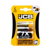 Battery Alkaline JCB LR14 size C Pcs. 2