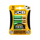 Rechargeable Battery JCB 2400 mAh size AA Ni-MH 1.2V Pcs. 4