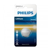 Buttoncell Lithium Electronics Philips CR2025 Pcs. 1