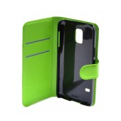 Book Case Ancus Teneo for Samsung SM-G800F Galaxy S5 Mini Green