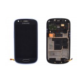 Original LCD & Digitizer Samsung i8200 Galaxy S3 mini VE ( S III Mini VE ) Blue GH97-15508B