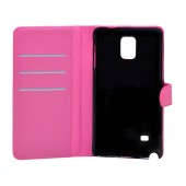 Book Case Ancus Teneo for Samsung SM-N910F Galaxy Note 4 Fuchsia