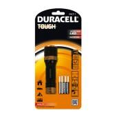 Duracell Tough Aluminium Black Flashlight 3W High-Power Led Waterproof MLT-1 / 106 Lumens/Distance 130m