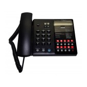 Hotel-Τype Telephone Device Witech WT-5010 Black with Emergency Button and Open Conversation