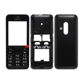 Front Cover Nokia 220 with keyboard Black OEM