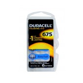 Hearing Aid Batteries Duracell 675 Zinc Air 1,45V Pcs. 6