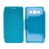 Book Case Ancus Classic for Samsung SM-A300F Galaxy A3 Blue