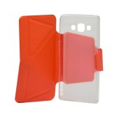 Book Case Ancus Classic for Samsung SM-A700F Galaxy A7 Orange