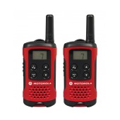 Walkie Talkie Motorola PMR T40 Red   Coverage 4 km