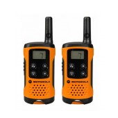 Walkie Talkie Motorola PMR T41 Orange   Coverage 4 km